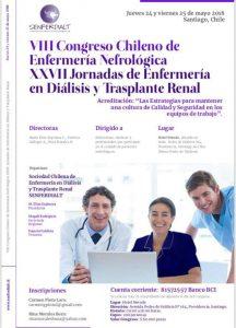 VIII Congreso Chileno de Enfermería Nefrológica @ Hotel Neruda | Providencia | Región Metropolitana | Chile